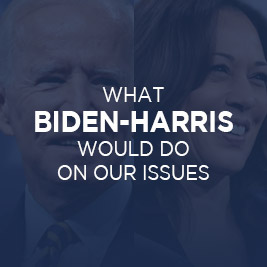 What Biden-Harris Would Do on Our Issues
