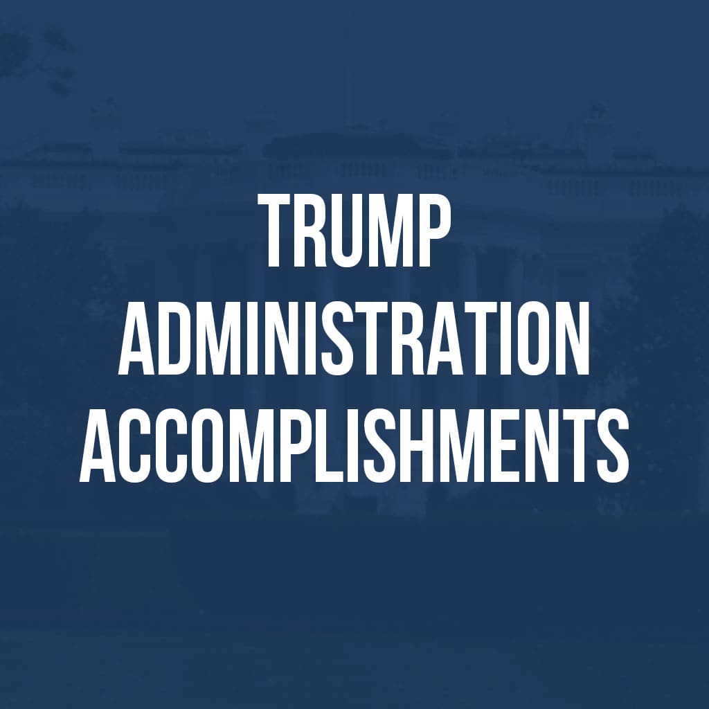 Trump Administration Accomplishments